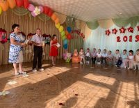 Генеральный директор Тюрин И.А. принял участие в выпускном детского сада в пос.Садовый