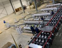 The opening of the sorting line