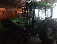 Purchased a new German tractor
